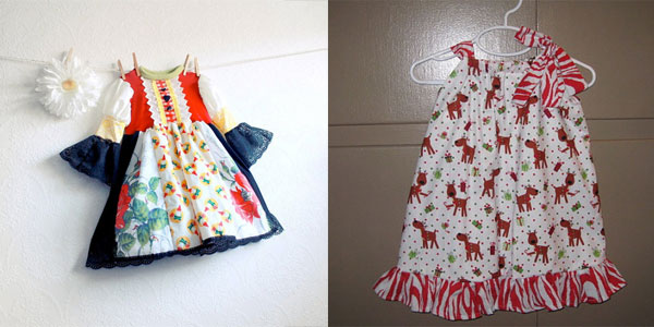 15 Beautiful & Cute Christmas Dresses & Outfits 2012 For Newborn .