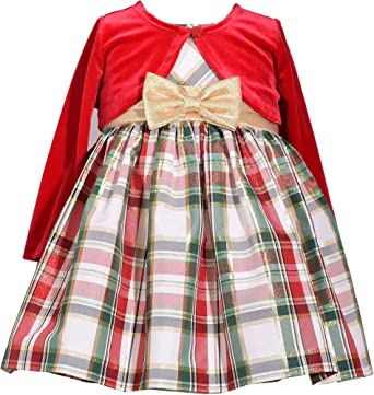 Amazon.com: Bonnie Jean Baby Girl's Holiday Christmas Dress .