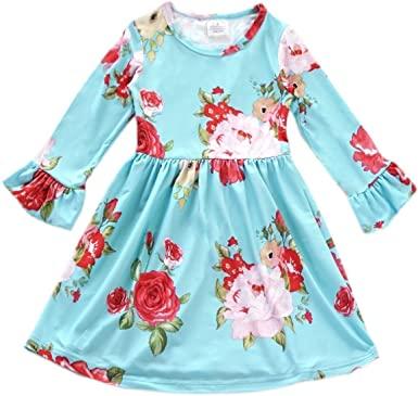 Amazon.com: BluNight Collection Little Girl Dress Kids Beautiful .
