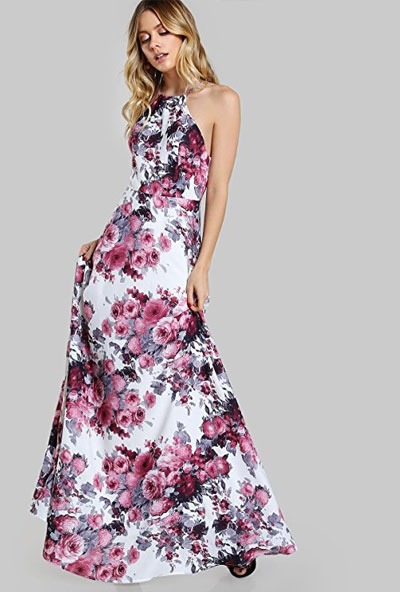 Amazon Finds - 15 Long Casual Floral Dresses that Look So Beautif