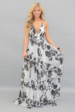 Beautiful Drama Floral Maxi Dress | Maxi dress, Boutique maxi .