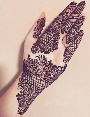 75+ Latest arabic mehndi designs for hands || Henna patterns for .