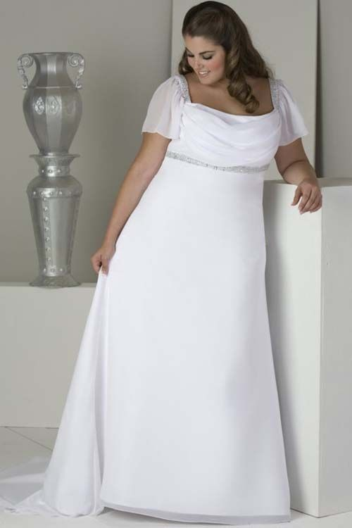 simple plus size wedding dress Get the Perfect Idea about Most Bea .