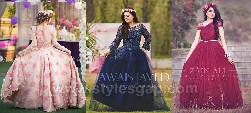 Latest Bridal Shower Dresses Ideas 2020-2021 Beautiful Desig