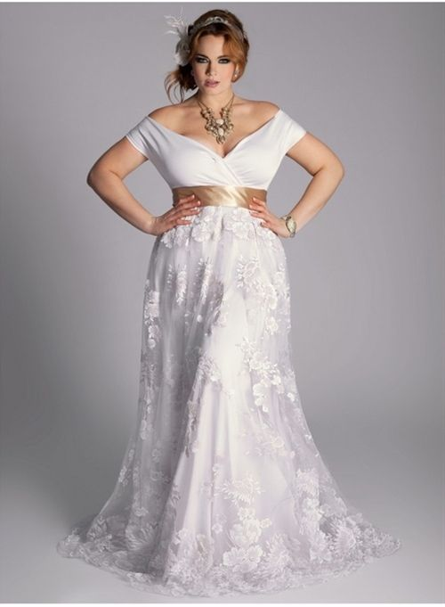 Dress ideas for brides with large breasts and or beautiful curvy .