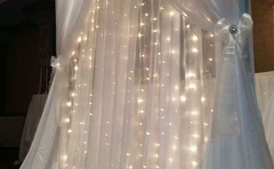 50+ Beautiful Wedding Backdrop Ideas | Wedding backdrop lights .