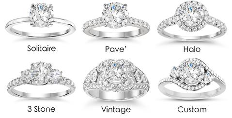 Step 4.3: Engagement Ring Styles – Mint Diamon