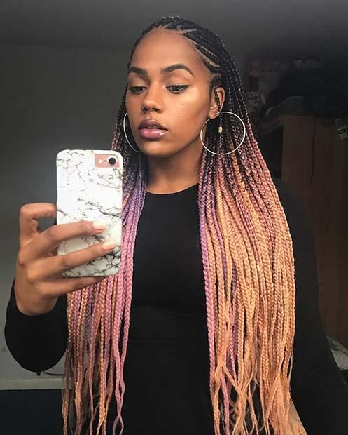 25 Best Black Braided Hairstyles to Copy in 2018 | Hair styles .