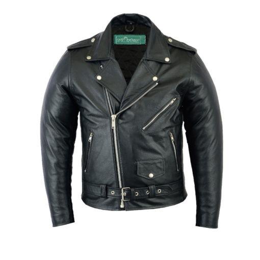 Vintage Motorcycle Leather Jacket | Custom Made - Kilt and Jac