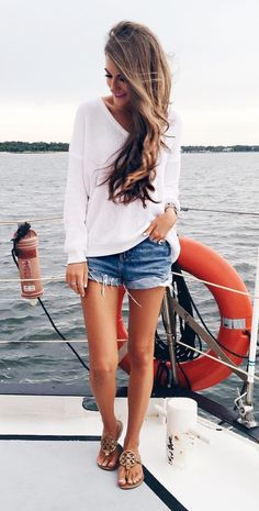 Boating outfit: 100+ best ideas about boating outfit, preppy .