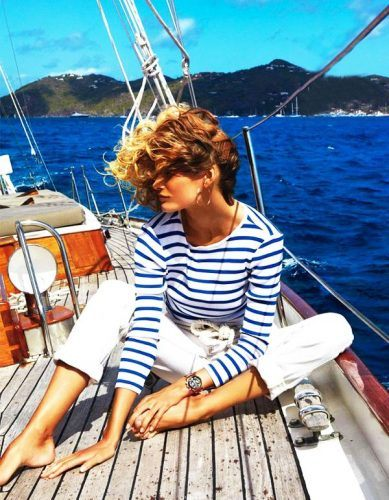 26 Best Boating Outfit Ideas for Girls-What to Wear On a Boat .