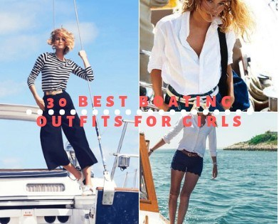 26 Best Boating Outfit Ideas for Girls-What to Wear On a Bo
