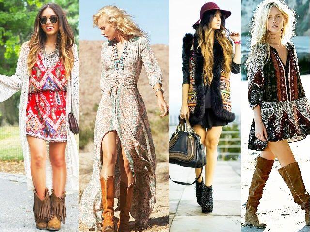 Best Bohemian Fashion Style Ideas in 2020 | Boho outfits, Fashion .