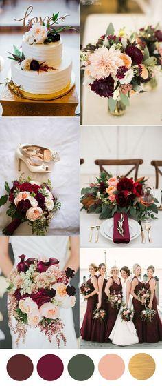20+ Best Burgundy Silver Wedding images | wedding, burgundy .
