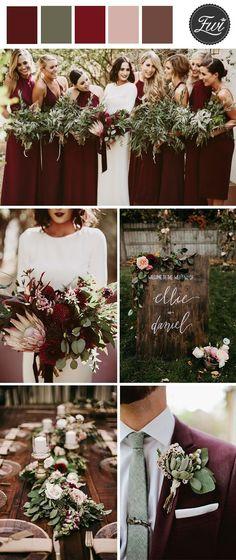 90+ Best navy and burgundy wedding images | burgundy wedding .