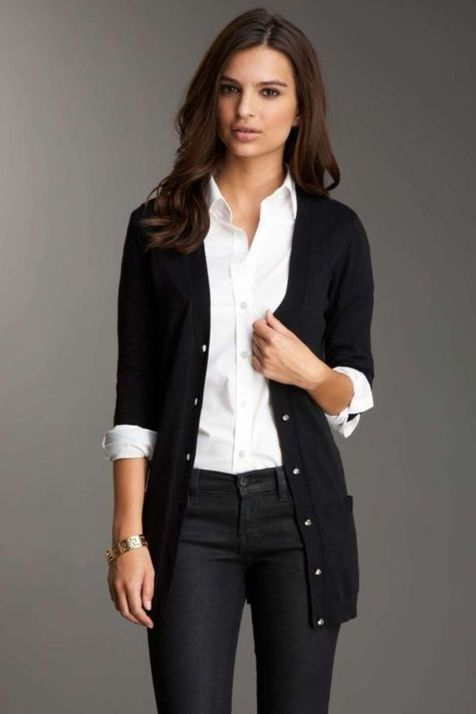 42 Favorite Spring Cardigans for Work Style (With images)   Work .