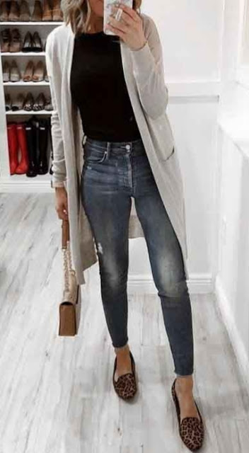 Best Long Cardigan Outfit Ideas for Women Outfits for Work : Best .
