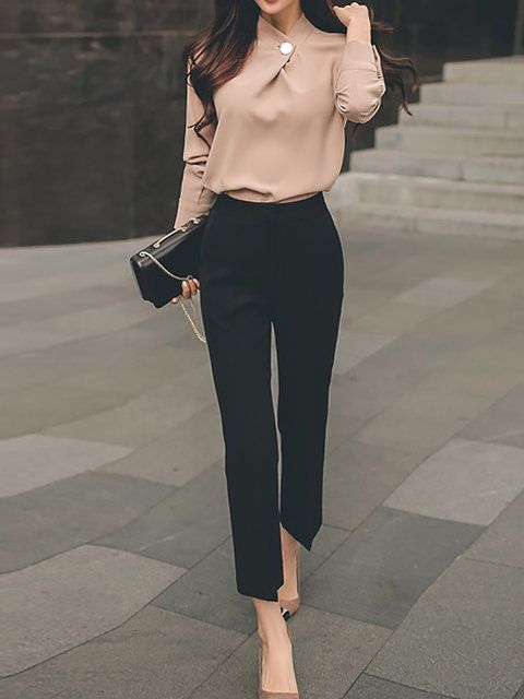 60 Mordern Classy and Casual work outfit - Ankara Lovers | Work .
