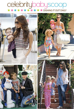 A Look At 10 Best Dressed Celebrity Moms | Baby Care Tips .