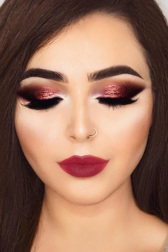 20 Christmas Makeup Looks Perfect For Any Holiday Party .