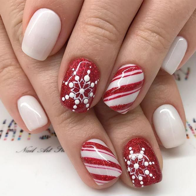 40+ Winter Nails Ideas To Cheer Anyone Up | NailDesignsJournal.com .