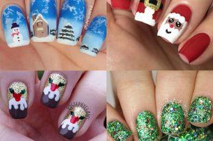 The best Christmas nail art ideas   HELL