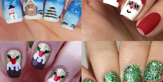The best Christmas nail art ideas | HELL