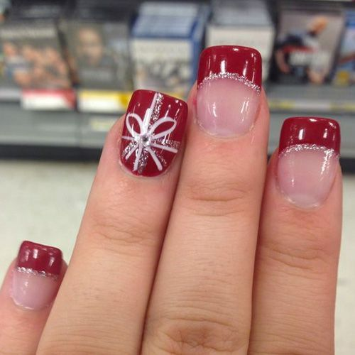 Best Christmas Nails for 2017 - 64 Trending Christmas Nail Designs .