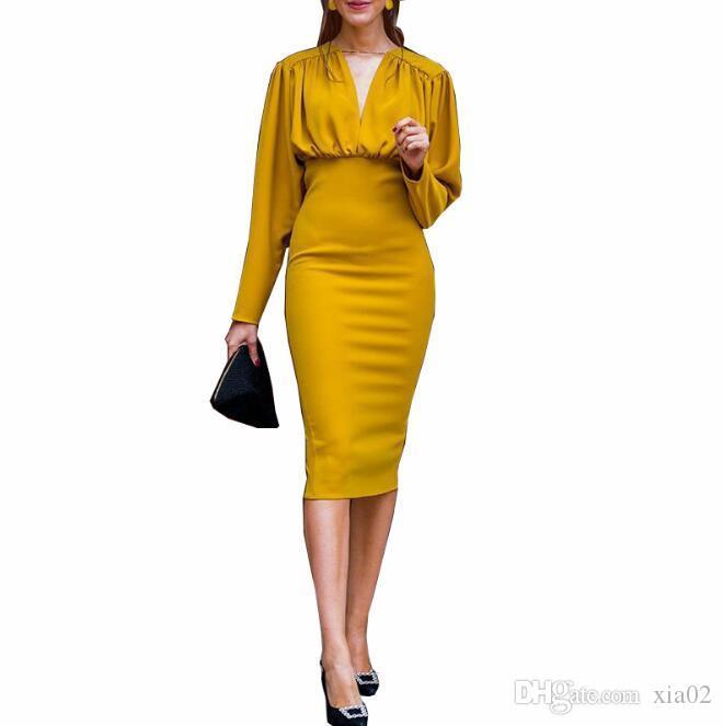 Best Sell Women Dresses Designer Clothes Fashion Sexy Slim Bag Hip .