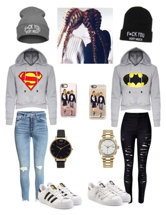 Designer Clothes, Shoes & Bags for Women | SSENSE | Bff outfits .