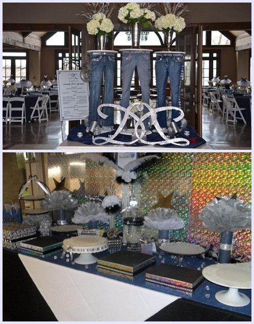 Denim and Diamonds Party Decor for Your Inspirations | Diamond .