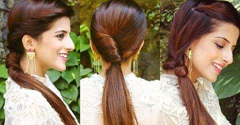 5 Best and Easy Ponytail Hairstyles   Cute simple hairstyles .