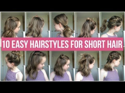 Quick and Easy Hairstyles for School Girls – fashiontur.com in .