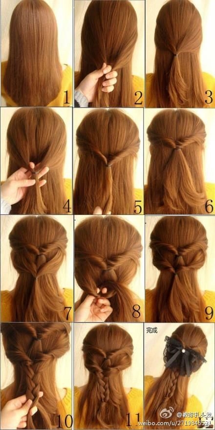 15 Ways to Style Your Ponytail - Pretty Designs | Hair styles, Diy .