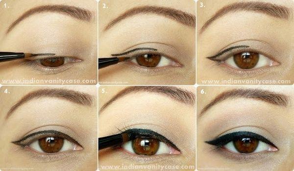 50+ Best Easy Cat Eyes | Cat eyeliner, Eyeliner for hooded eyes .