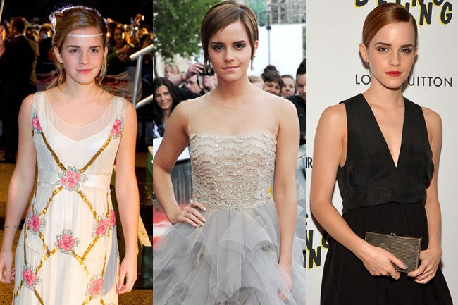 Emma Watson's Style Timeline: 13 of Her Major Fashion Moments .