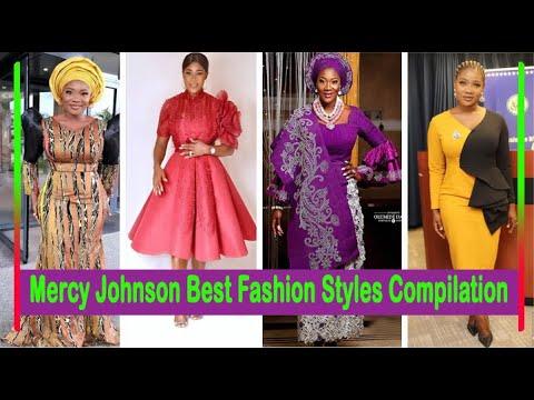 Mercy Johnson Best Fashion Styles Compilation - YouTu