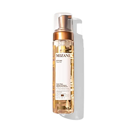 Amazon.com: MIZANI Styling Foam Wrap | Balances Hydration, Shine .