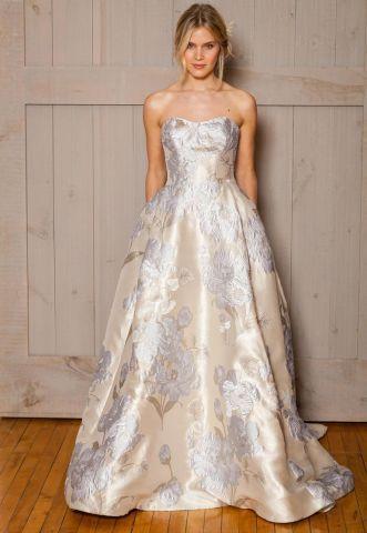50 Best Florat Wedding Dress Ideas | Printed wedding dress, Floral .