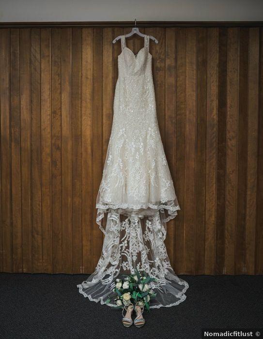 Wedding dress ideas - v neck, sweetheart, a line, train, lace .