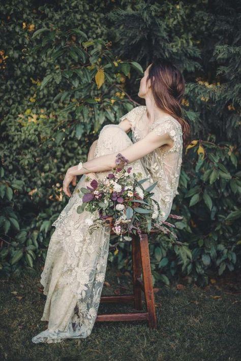 50 Best Florat Wedding Dress Ideas | Queenstown weddi