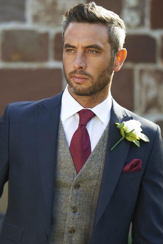 TWEED BROWN ROYAL WAISTCOAT 3 | Wedding suits men blue, Best .