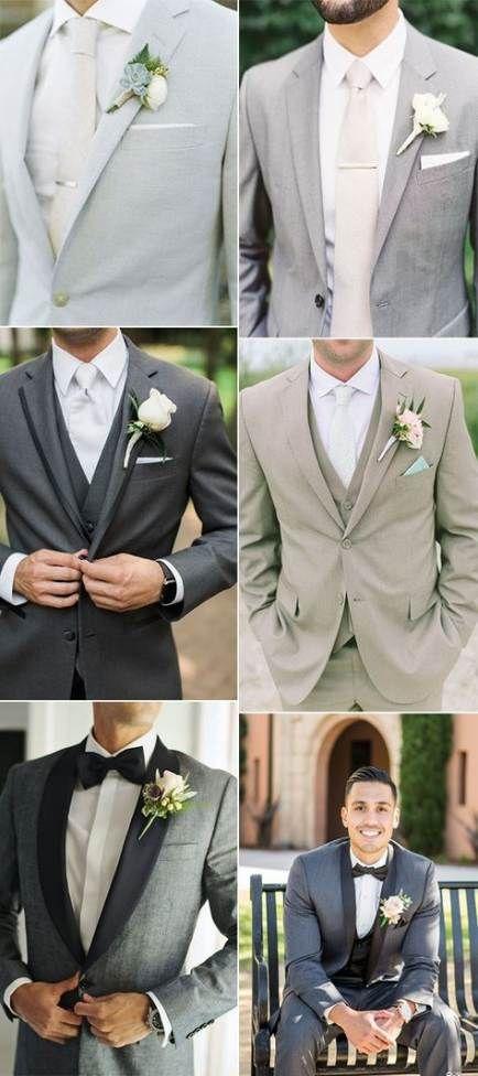 Wedding Colors Grey Groomsmen 50+ Trendy Ideas | Best wedding .