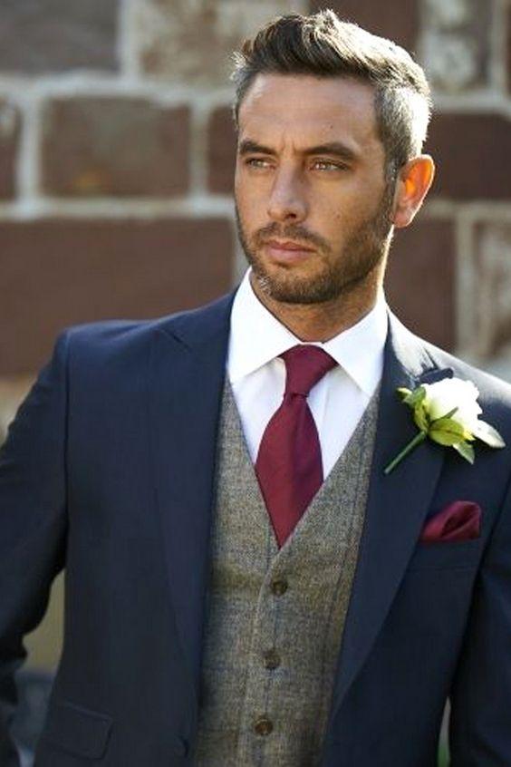 Groom Fashion Inspiration – 45 Groom Suit Ideas | Wedding suits .