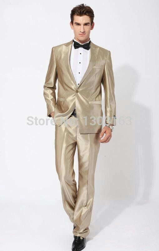 Groom Best Man White And Gold Wedding Suit Ideas For Men | Tuxedo .