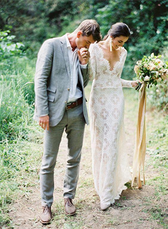 The Best Groom Attire for Summer Weddings - mywedding | Casual .