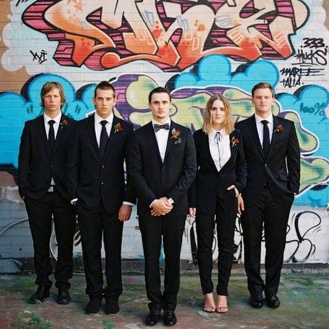 33 Stylish Groomswoman Outfit Ideas | Bridesman, Groomsmen outfits .