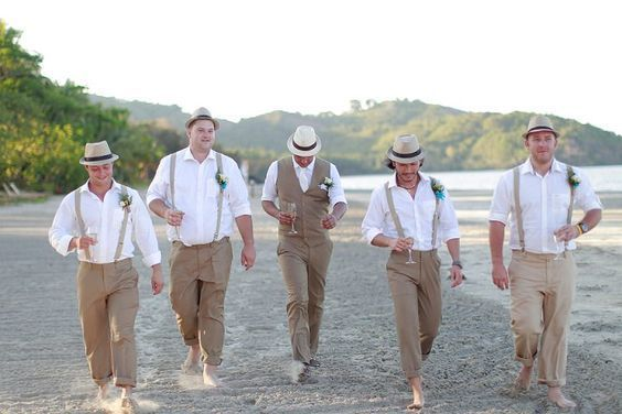 30 Beach Wedding Groom Attire Ideas | Beach wedding groomsmen .