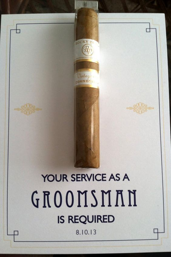 15 The Best Groomsmen Proposal DIY You Will Like | Groomsmen .