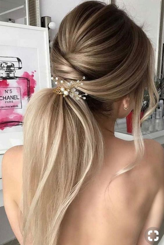 Best Hair Style For Christmas Eve in 2020 | Wedding hair trends .